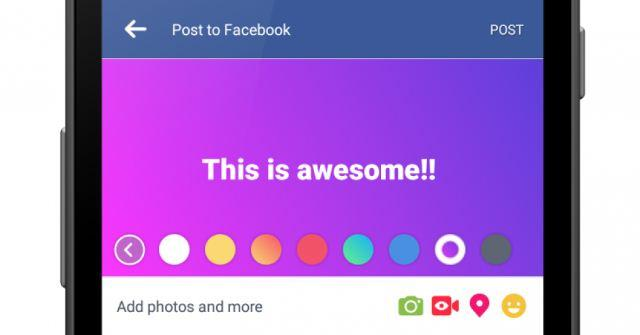 Daftar Kode Status Warna Warni Background Facebook Unik Terbaru 2018